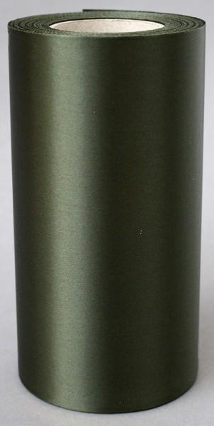 Kranzband Supersatin 150mm 25m moosgrün