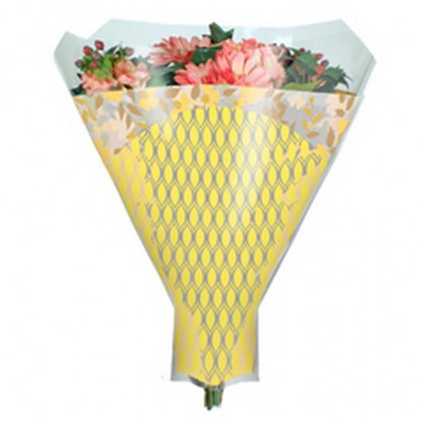 Blumentüten 52/44/12 Friendly gelb (50 Stück)