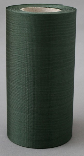 Kranzband Moire 150mm 25m flaschengrün
