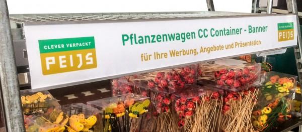 Pflanzenwagen DC Container Karren-Banner Aluminium