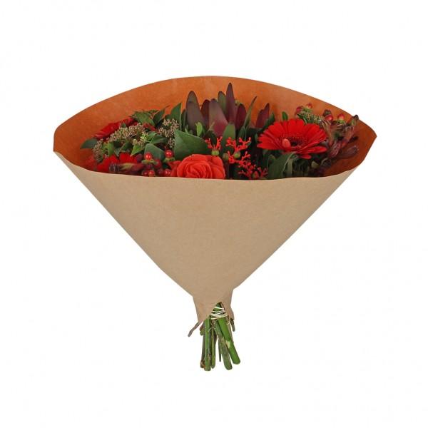 Blumentüten 35/35 Angelo braun kraft-orange 70g (25 Stück)