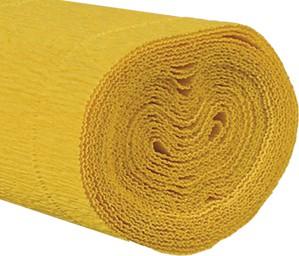Krepppapier 160g 50x250cm gelb 5 Stück