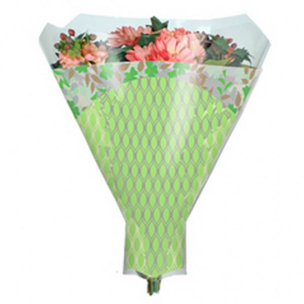 Blumentüten 52/44/12 Friendly grün (50 Stück)