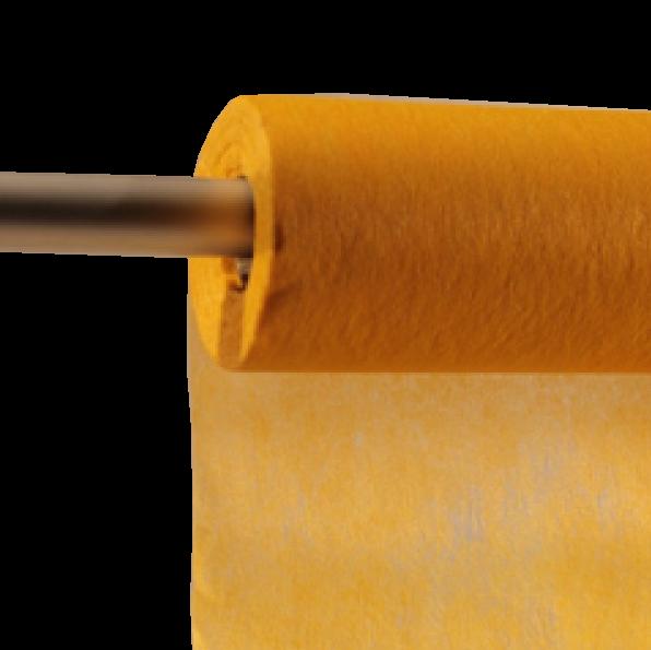 Decofleece 60cm/25m gelb PMS109