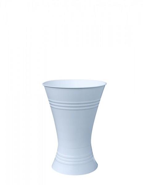 Floristenvase X-Form 28cm weiß