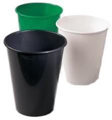 Eimer Konika 13 Liter schwarz schmal plus 50 Stück