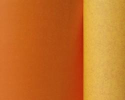 Manschettenpapier 25cm/100m 2-Color gelb/orange