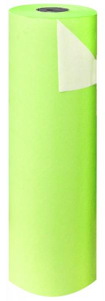 Blumenpapier Rolle 60cm 50g weisskraft hellgrün (12kg)