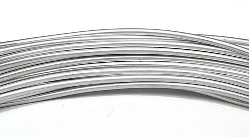 Aluminiumdraht 2,0mm silber 100g/12m