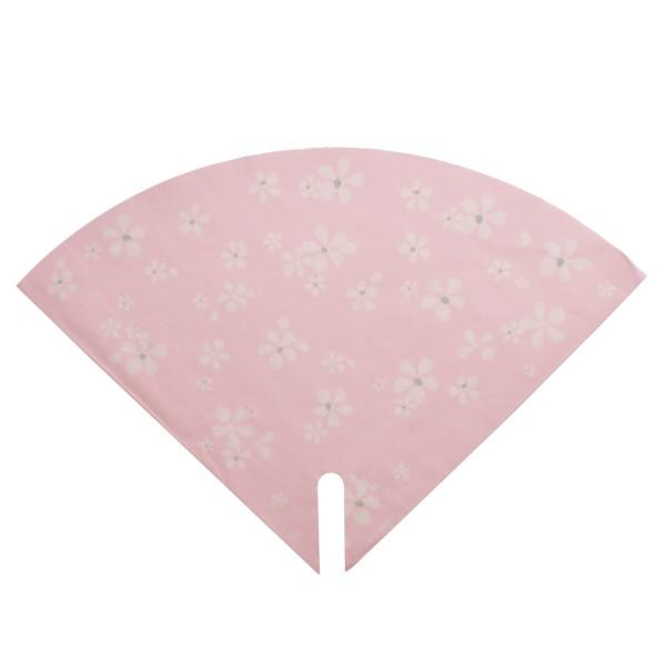Blumentüten 35/35 Floral Stamp rosa (25 Stück)
