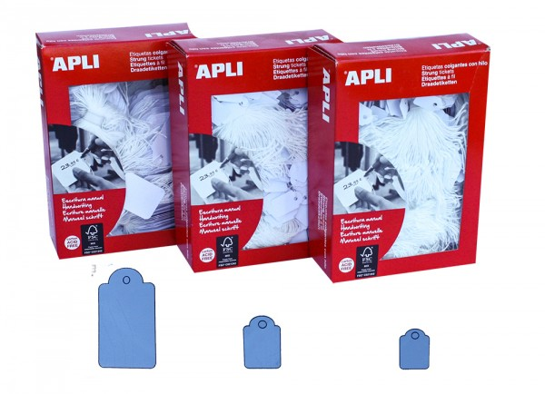Hängeetiketten APLI388 15x24mm (1000 Stück)