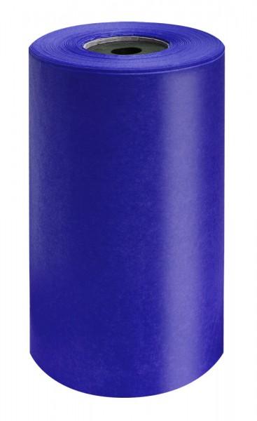 Brillant-Perlschutz Manschettenpapier 25cm/200m royalblau