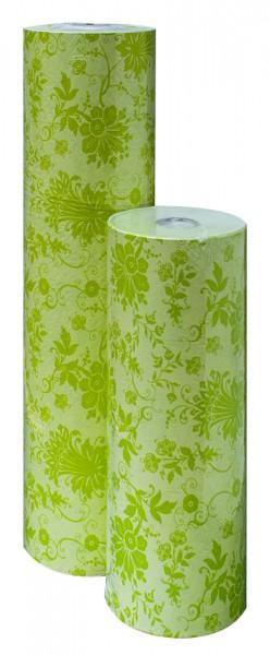 Blumenpapier Rolle 75cm 30g Florence grün 15kg