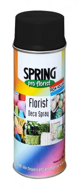 Spring Decospray 400ml Soft Black
