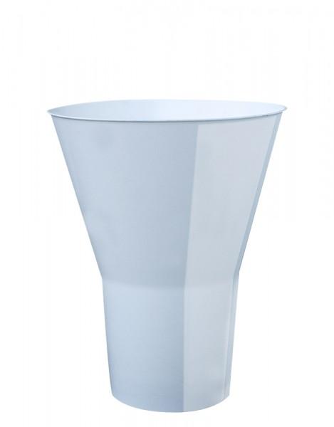 Floristenvase Y 28cm weiß