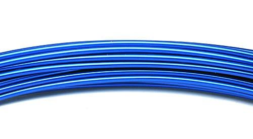 Aluminiumdraht 2,0mm blau 100g/12m