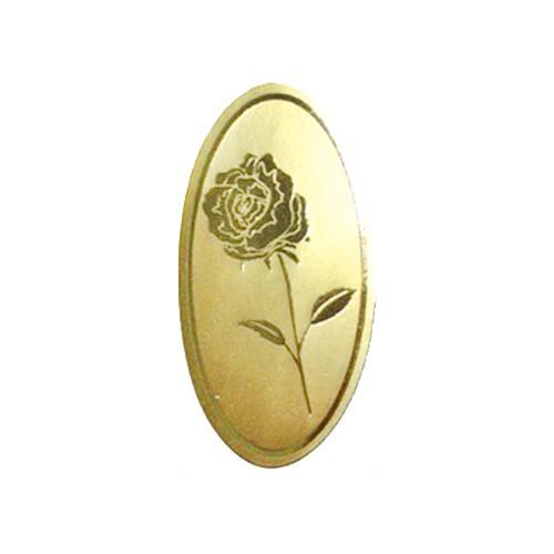 Etiketten Rose gold/gold (500 Stück)