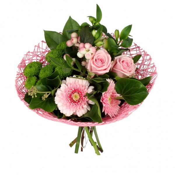 Bouquethalter Twist Ø20cm rosa (300 Stück)