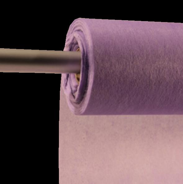 Decofleece 60cm/25m lavendel PMS2645