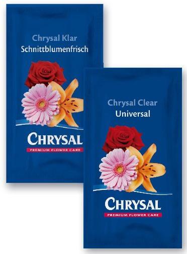 Chrysal klar Servicetütchen für 1 Liter 1000 Stück