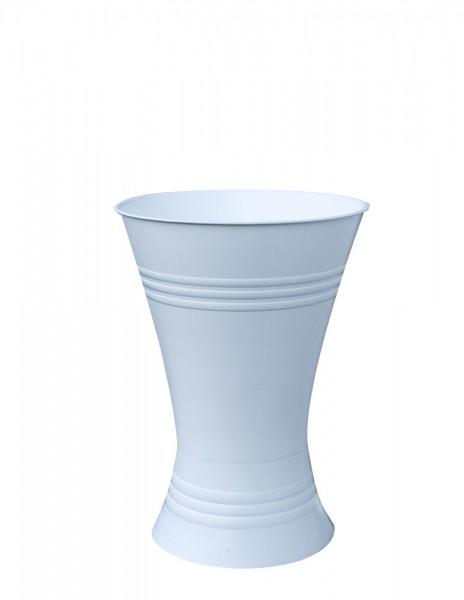 Floristenvase X-Form 35cm weiß