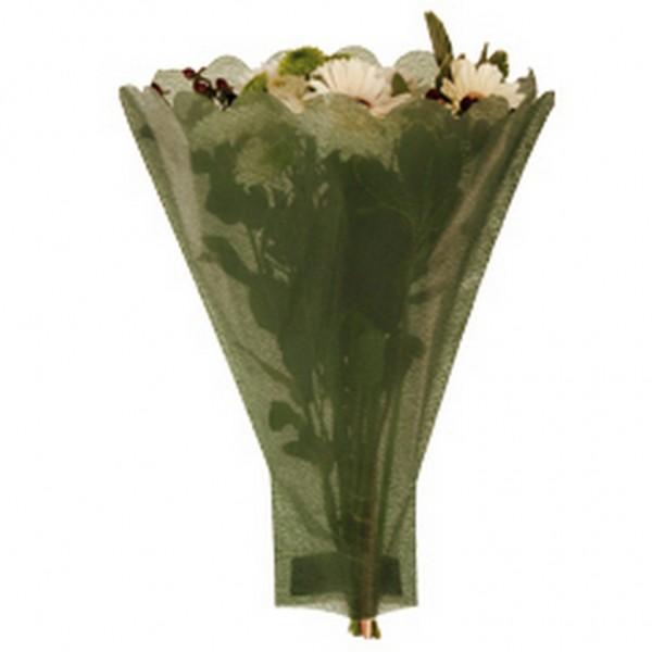 Blumentüten 52/35/10 Paperlook grün (50 Stück)