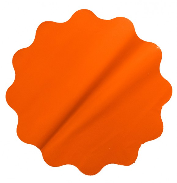 Rondella 50cm Mat Pearly orange 50 Stück