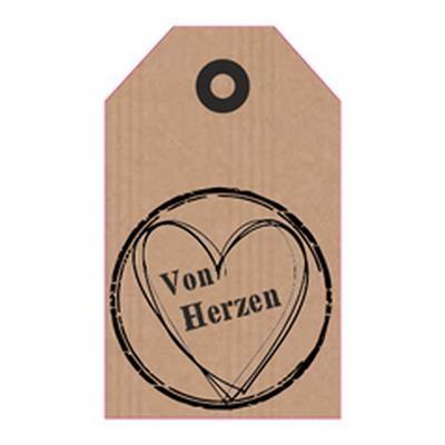 """Blumenkarten """"von Herzen"""" à 20 Stück"""