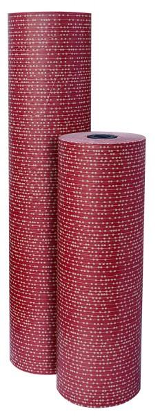 """Weihnachtspapier 75cm 35g """"Perla"""" rubinrot 10kg"""