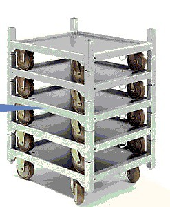 Pflanzenwagen DC Container Bodenelement halbe Größe (Nylon)