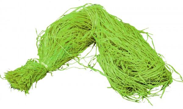 Raphia Bast gefärbt grün 500g
