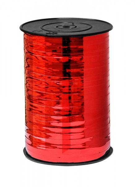 Kräuselband 10mmx225m rot metallic