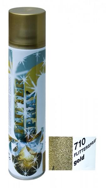 Sprühfarbe UC 7101 Flitter Effekt gold 400ml