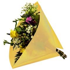 Blumentüten 40/40 Angelo Pearl gelb 50 Stück