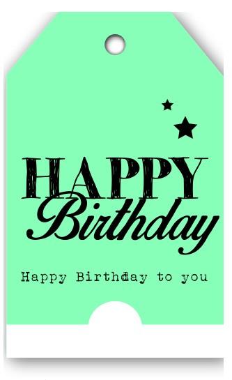 Grußkarten Happy Birthday(12 Stück)