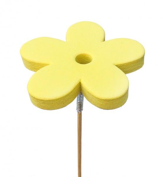 Beistecker Blume Eva gelb (25 Stück)