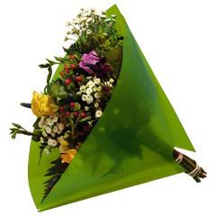 Blumentüten 35/35 Angelo Pearl lime 50 Stück