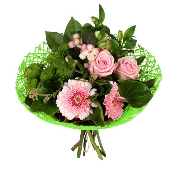 Bouquethalter Twist Ø20cm grün (300 Stück)