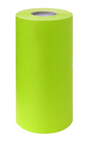 Manschettenpapier 25cm/200m weiß/grün 38g