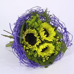 Bouquethalter Woody 25cm lila 100 Stück