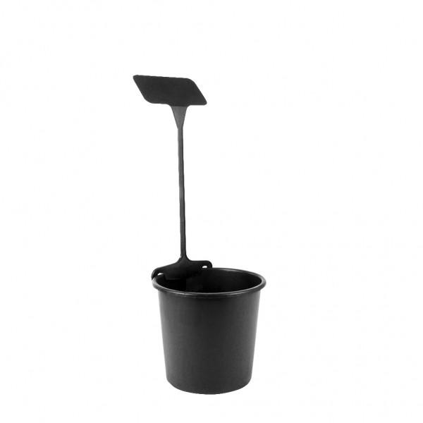 Preisstecker SL290 mit Klammer 50cm schwarz (25 Stück)