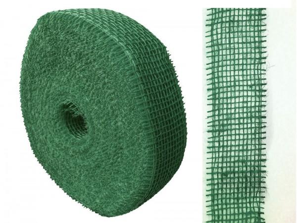 Jute 5cm/40m Waldgrün