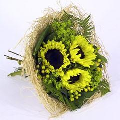 Bouquethalter Woody 25cm creme/weiß 100 Stück