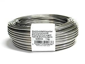 Aluminiumdraht 5,0mm 1 kg