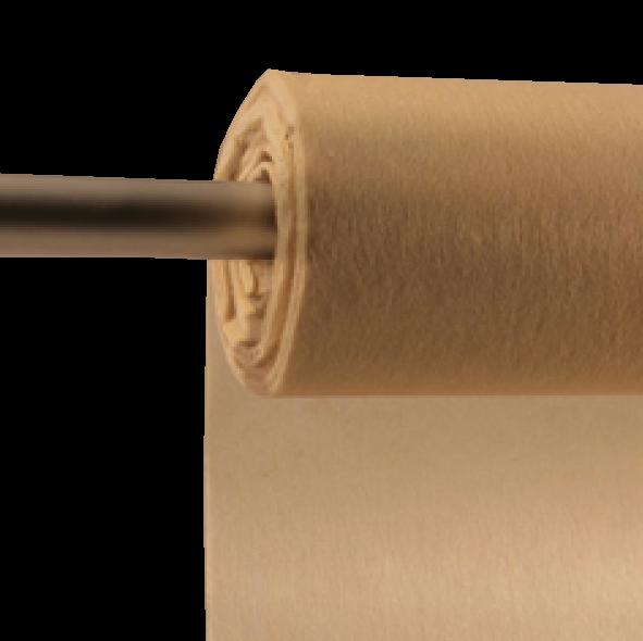 Decofleece 60cm/25m creme PMS726