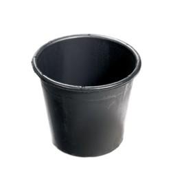 Eimer Konika 5 Liter schwarz breit 50 Stück
