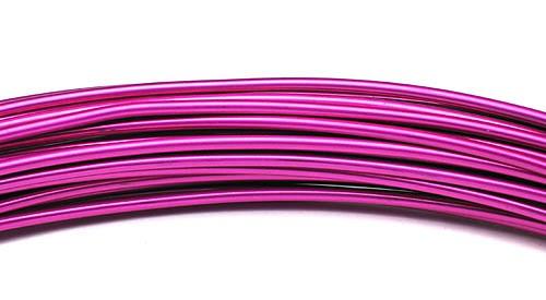 Aluminiumdraht 2,0mm pink 100g/12m