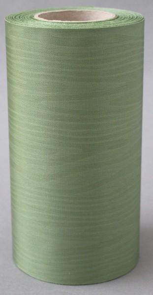 Kranzband Moire 100mm 25m hellgrün
