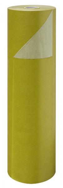 Blumenpapier Rolle 50cm 50g Braun Kraft ockergrün 10kg