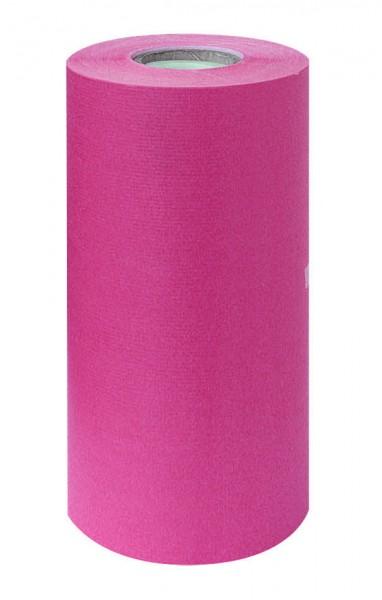 Manschettenpapier 25cm/200m weiß/pink 38g